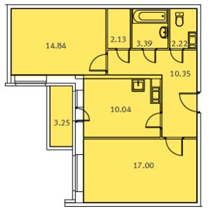 Входит ли балкон в общую площадь квартиры.