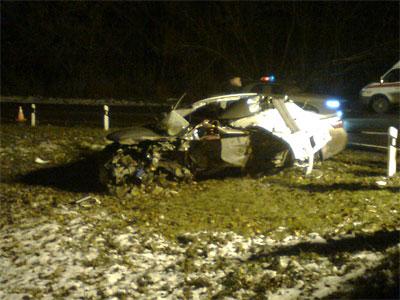В результате ДТП, произошедшего вечером 12 ноября недалеко от Фатежа, погибли три человека