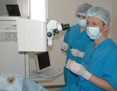 Впервые куряне получили уникальную возможность лечить глаза по современным методикам на сверхточном лазерном оборудовании, не выезжая из города