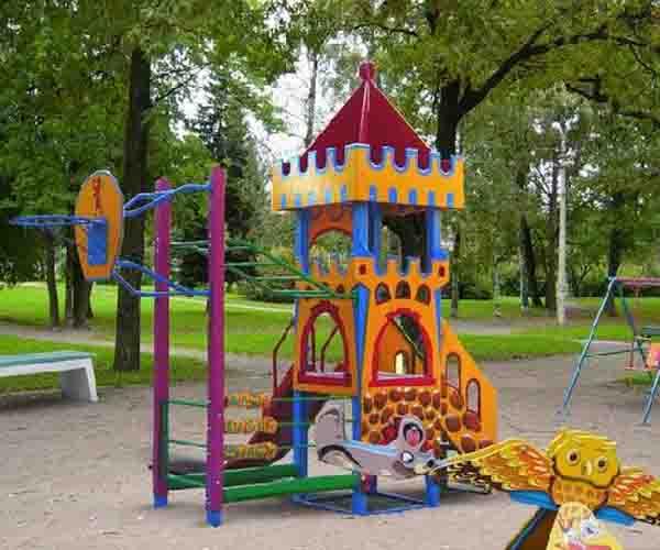 Санпин установка детских игровых площадок