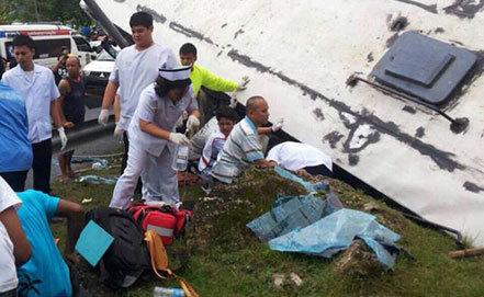 Курянка попала в аварию в Таиланде