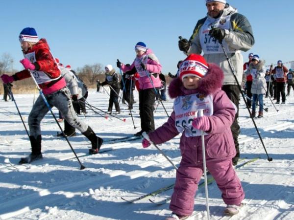 лыжная гонка «Лыжня России