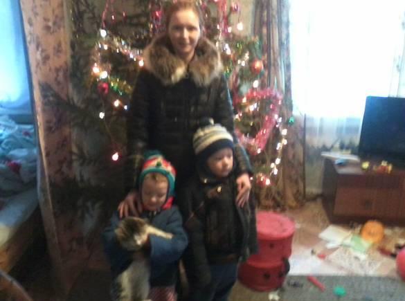 Пропавшую с двумя детьми курянку нашли