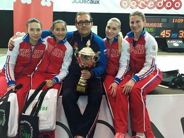 Курская рапиристка завоевала золото и бронзу на этапе Кубка мира