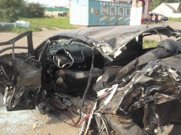 Под Курском вДТП погибли двое полицейских