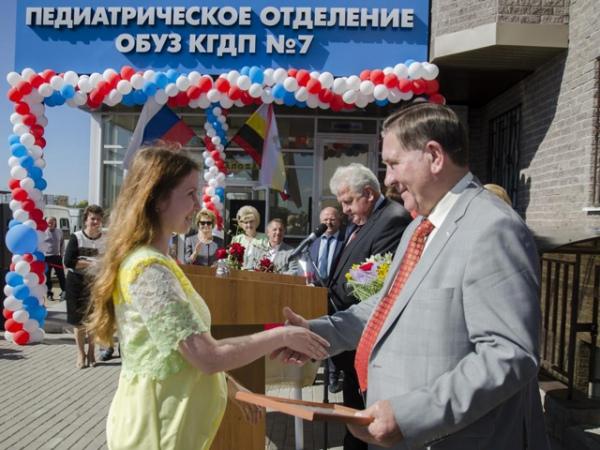 Сегодня напроспекте Клыкова откроют детскую больницу
