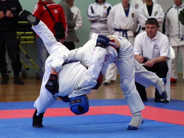 Курская команда порукопашному бою стала 2-ой наВсероссийских соревнованиях