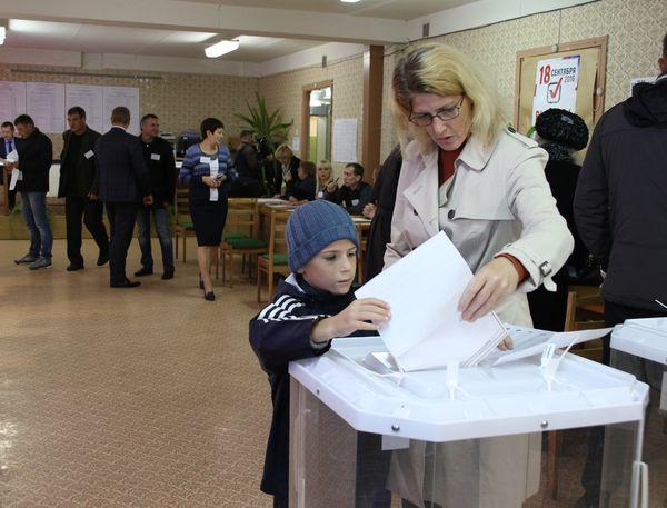 Избирком Курской области продолжает подсчёт голосов избирателей региона