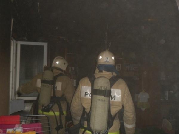Курская область. Утром вКурчатове горела квартира
