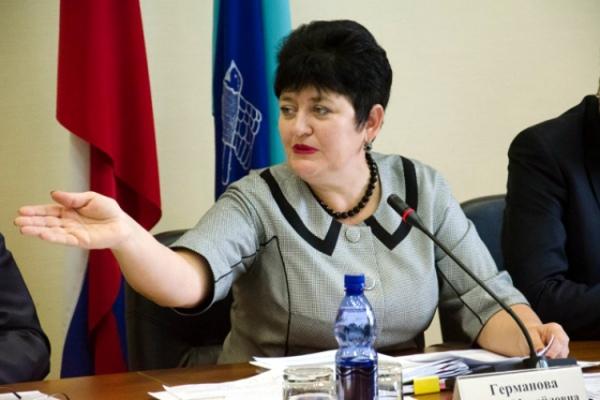 Руководитель Курска Ольга Михайловна Германова сдала свои полномочия заместителю