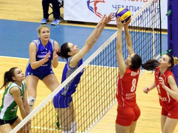 Волейболистки Курска выиграли домашний турнир
