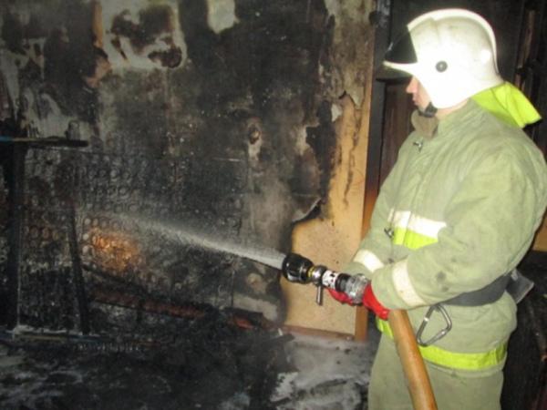 Впоселке Маршала Жукова под Курском едва несгорела квартира