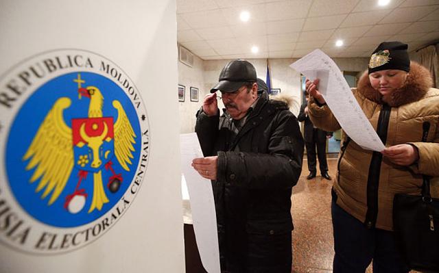 ЦИК: Выборы президента Молдавии состоялись