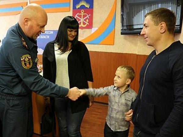 4-летний спасатель изМурманска отправился наприем кМатвиенко
