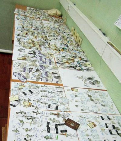 Пограничники отыскали упассажирки автобуса украшения на млн. руб.
