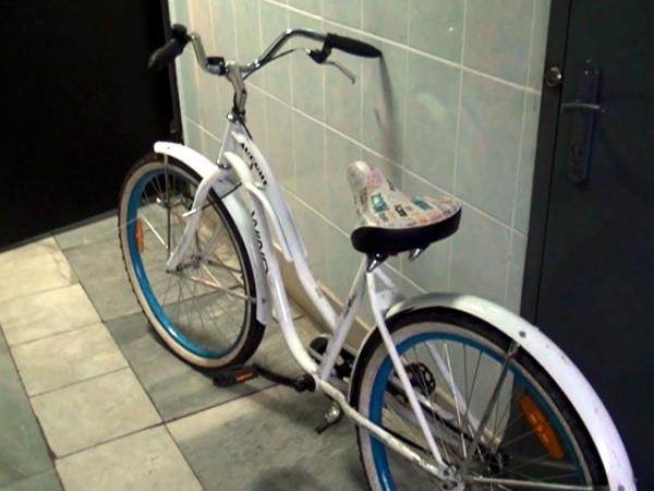 ВКурске молодые люди украли средь бела дня велосипед, пилу иканцтовары