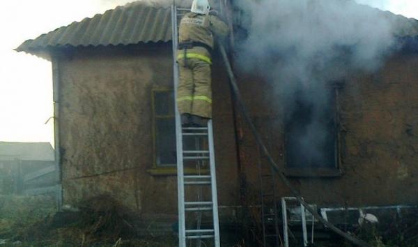 Всгоревшем жилом доме обнаружили тело 47-летней курянки