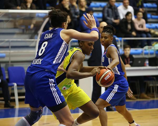 Баскетболистки «Динамо» одержали 4-ю победу вЕвролиге