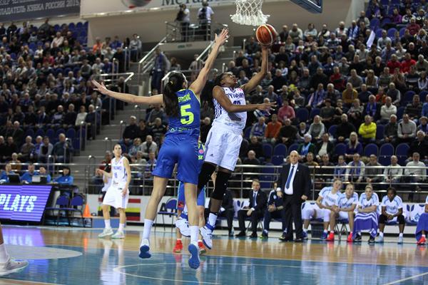 Курское «Динамо» одержало пятую победу в Евролиге