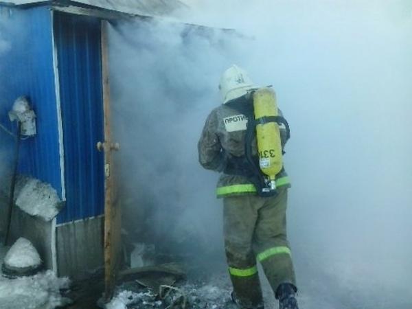 В своем доме сгорела 81-летняя курянка