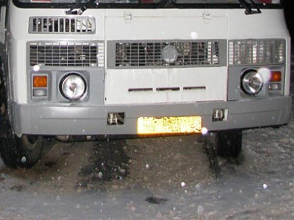 ВКурской области автобус насмерть задавил мужчину