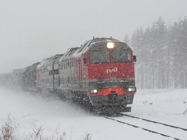 ВКурской области под поезд попали двое мужчин