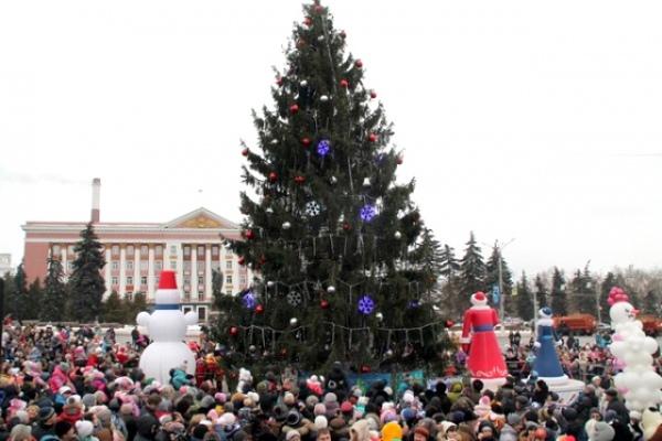Курян приглашают отметить Рождество на Красной площади