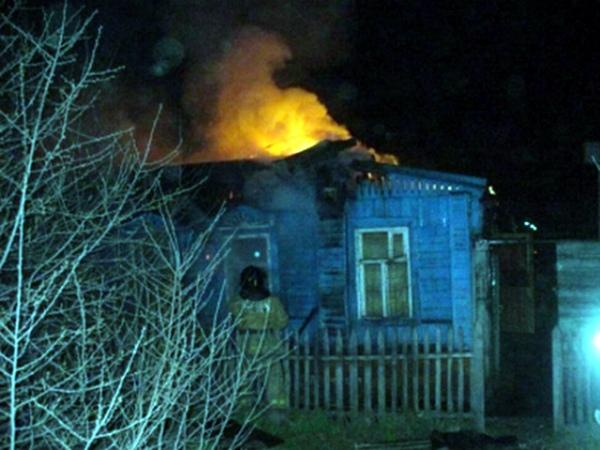 ВКурской области впламени погибли два человека