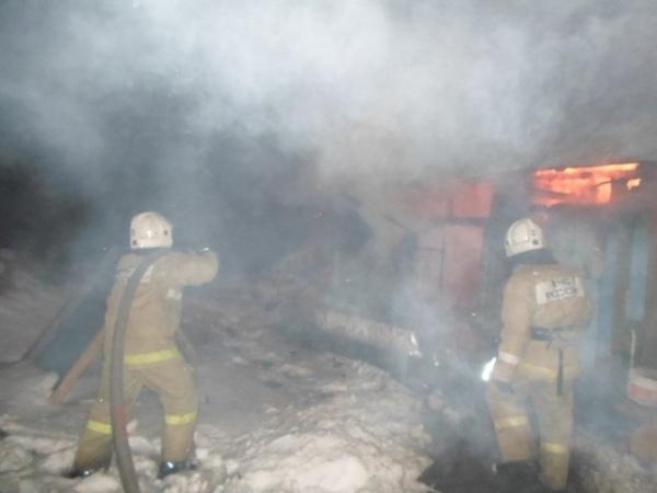 Курск. Пожар в личном доме забрал жизнь женщины