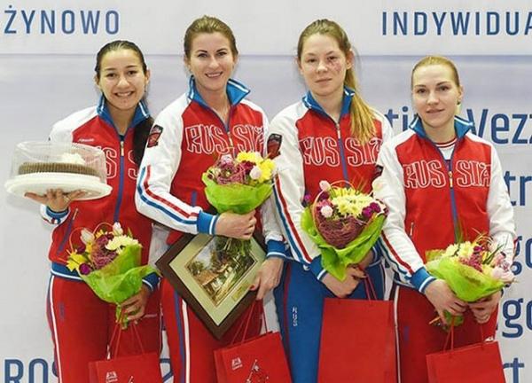 Курская рапиристка стала призером Кубка мира