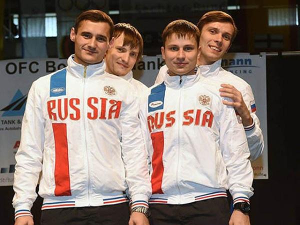 Русские рапиристы заняли 3-е место вкомандном турнире наКубке мира