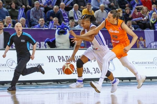 Баскетболистки курского «Динамо» обыграли итальянскую «Фамилу Скио» вматче Евролиги