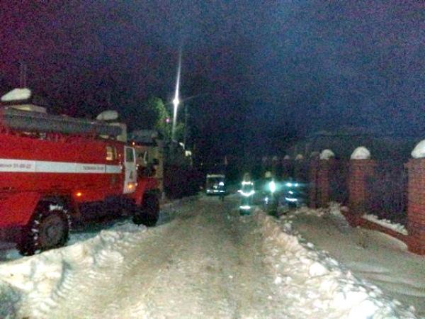 ВКурске напожаре умер хозяин коттеджа