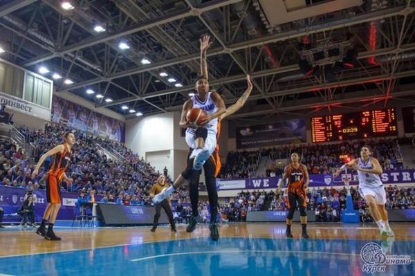 Курское «Динамо» вырвалось влидеры женской баскетбольной Премьер-лиги