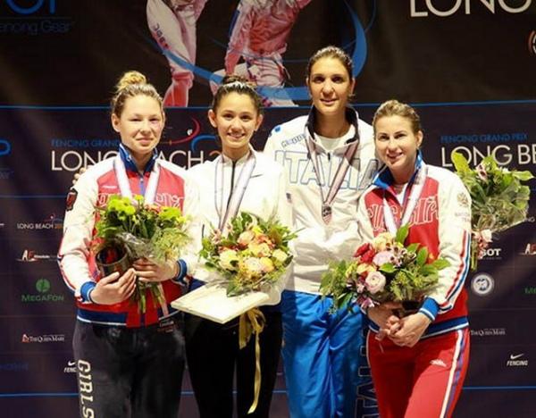 Инна Дериглазова завоевала «бронзу» Гран-при в США