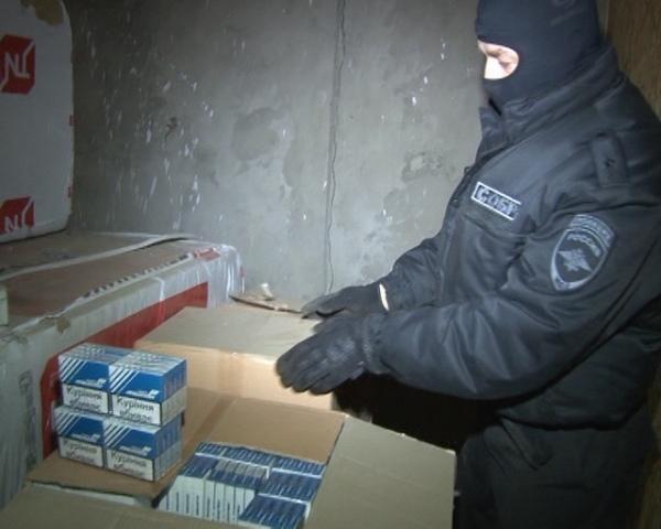 Под Курском «накрыли» подпольный цех попроизводству табака