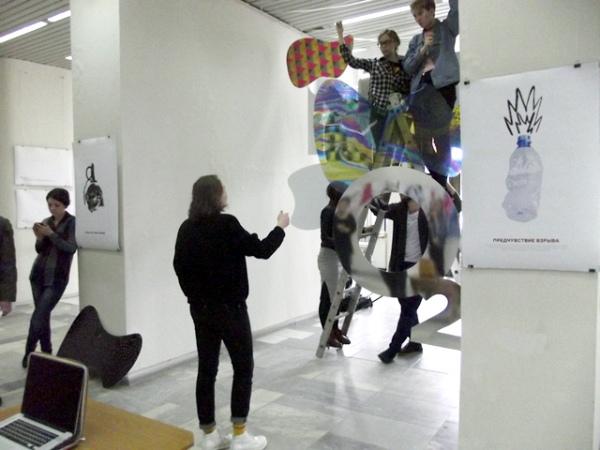 ВКурске открылась Vмежрегиональная выставка дизайна «ART-подготовка»