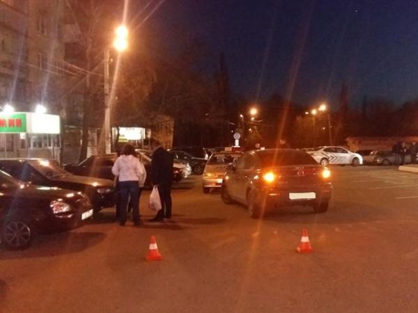 ВКурске вДТП пострадала 17-летняя пассажирка мопеда