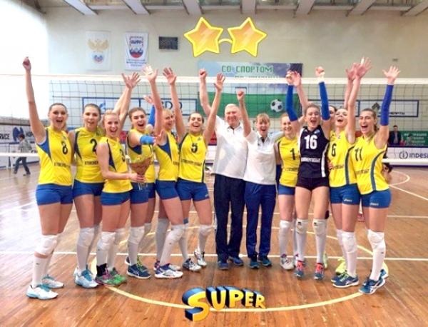 Курские волейболистки добились перехода вСуперлигу