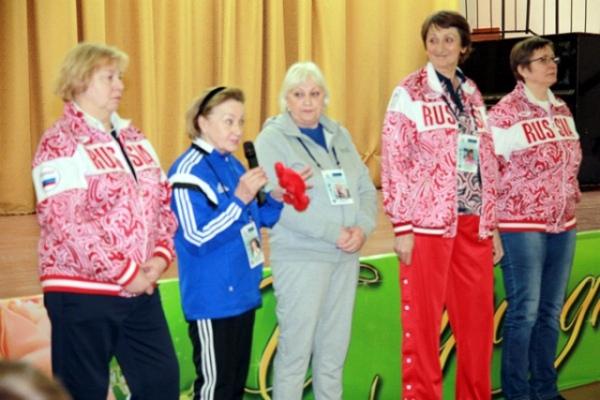Курскую область посетили пять олимпийских чемпионок