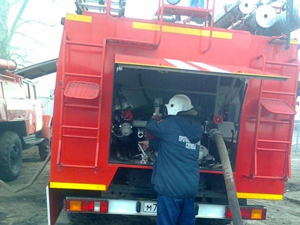 В Курской области огнем повреждены три дома