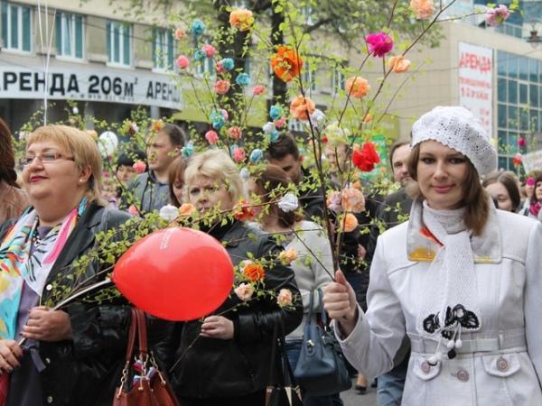 1мая вовсех округах Курска пройдут праздничные мероприятия (программа)