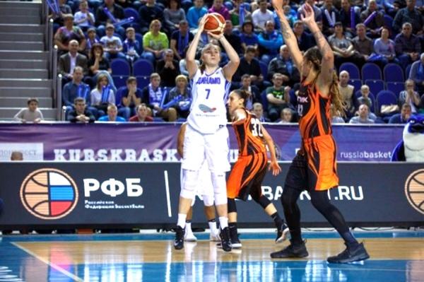 Баскетбольный УГМК победил впервом матче заключительной серии чемпионата РФ