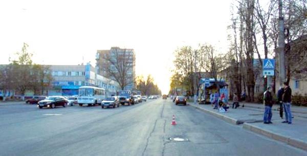 Первое ДТП произошло на улице Сумская в Курске