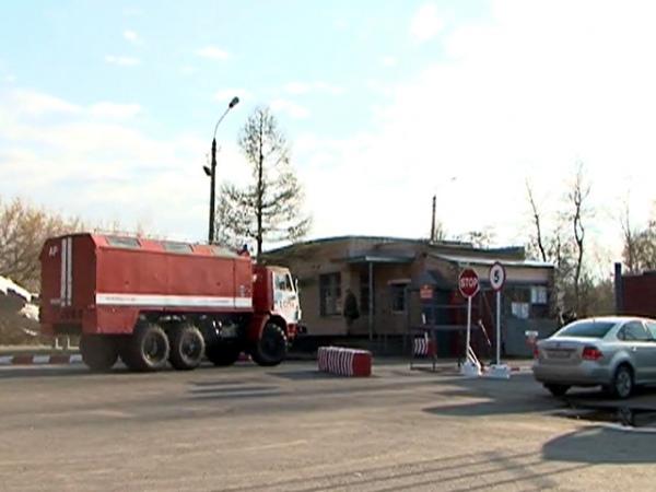Наместе пожара наскладе боеприпасов под Курском отыскали останки прапорщика