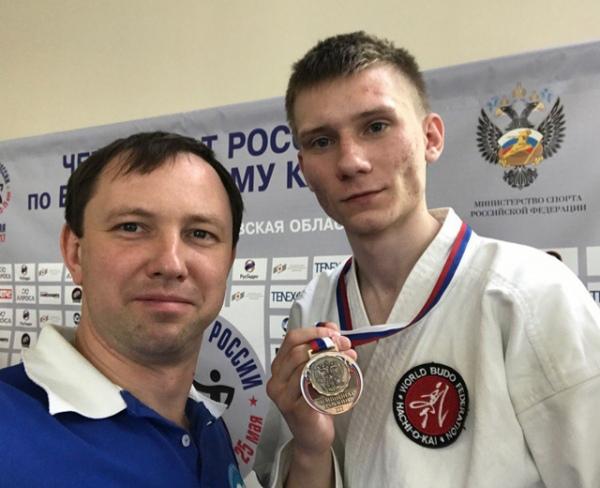 Хабаровчанин стал чемпионом РФ повсестилевому каратэ