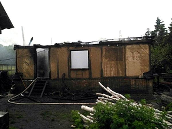 Пофакту погибели напожаре 3-х человек возбуждено уголовное дело