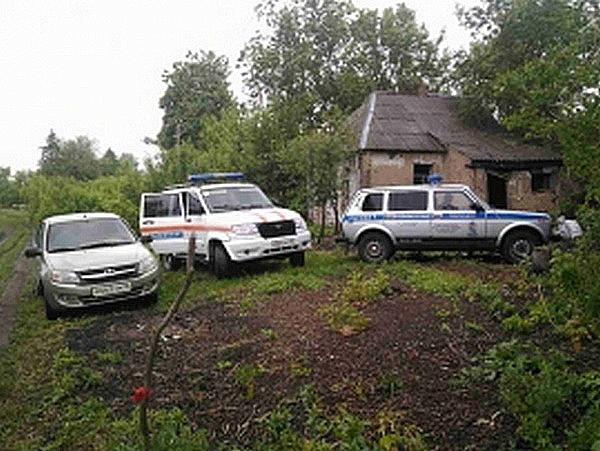 ВКурской области сгорела семья из 3-х человек