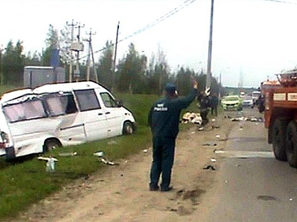 авария под тулой 27 октября «мерседес спринтер»