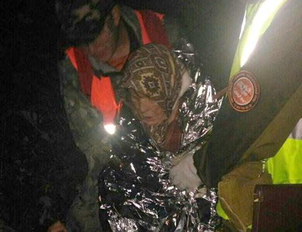 Волонтеры отыскали влесу заблудившуюся пенсионерку